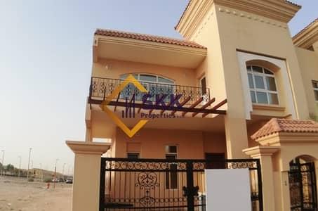 فیلا 5 غرفة نوم للايجار في مدينة بوابة أبوظبي (اوفيسرز سيتي)، أبوظبي - Stand Alone  5 Br villa Opp to Seashore Compound