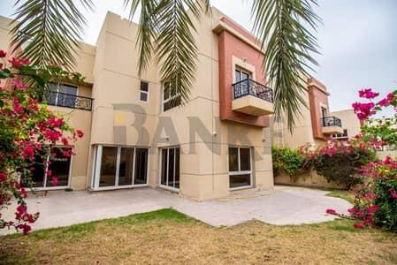 4 Bedroom Villa for Rent in Al Safa, Dubai - Spacious Villa with Garden and Swimming Pool