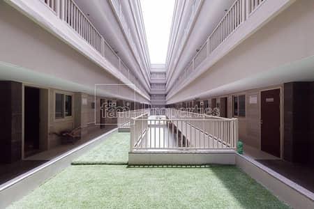 سكن عمال  للايجار في جبل علي، دبي - Labor Camp with 200 Rooms available!