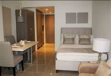 Studio for Rent in Masdar City, Abu Dhabi - Awesome Fully Furnished Studio with Huge Balcony near Etihad Plaza at Masdar City