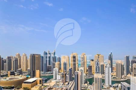 بنتهاوس 5 غرفة نوم للبيع في أبراج بحيرات جميرا، دبي - 5 BR Penthouse with Marina View   Ready to Move In