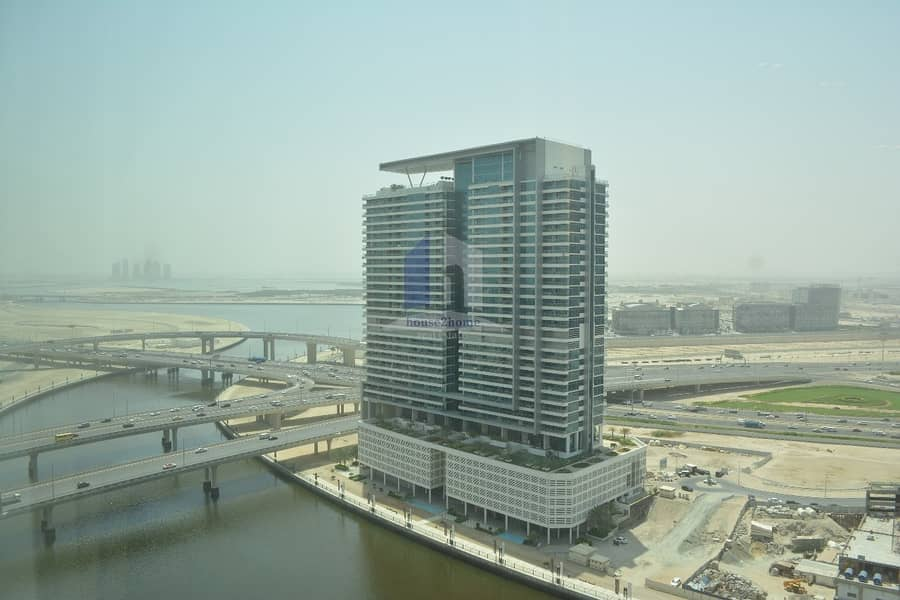 10 Canal View Fully Furnished Hotel Apartment For Rent | Damac Maison The Vogue
