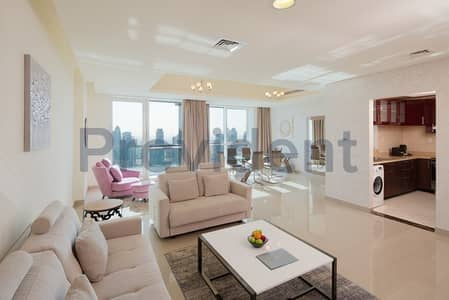 1 Bedroom Hotel Apartment for Rent in Dubai Marina, Dubai - 1 Bedroom|Partial Sea view|Fully Serviced