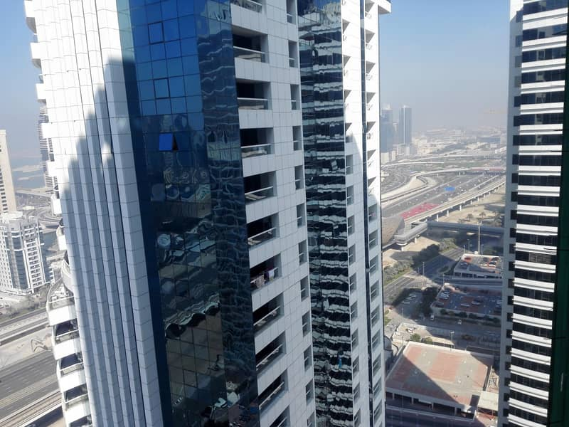 2 CLOSE TO METRO 1 BHK + STUDY  IN JLT DUB AI GATE 1 CHEAPEST DEAL