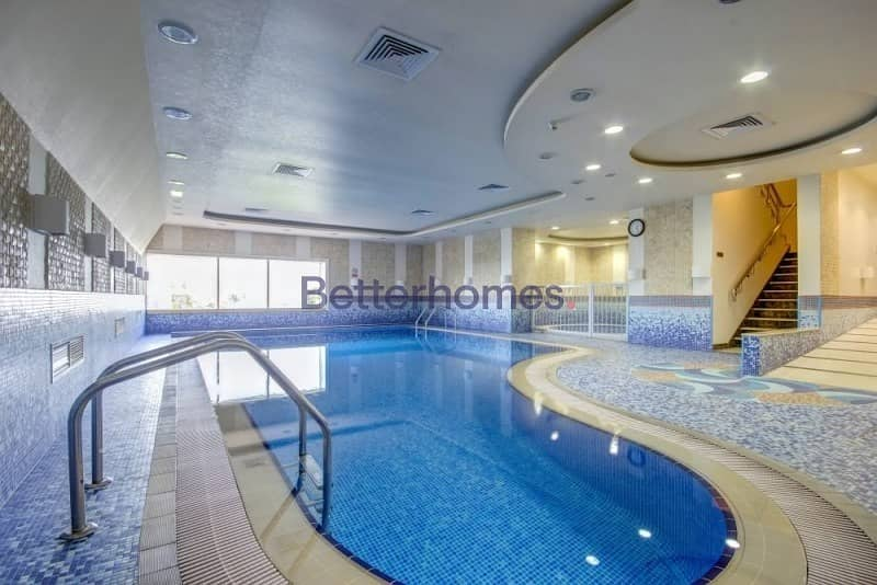 15 Nicely Furnished  High Floor   City View   Elite Residence