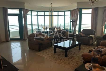 شقة 3 غرفة نوم للايجار في دبي مارينا، دبي - Luxurious   Open Living Space   Furnished