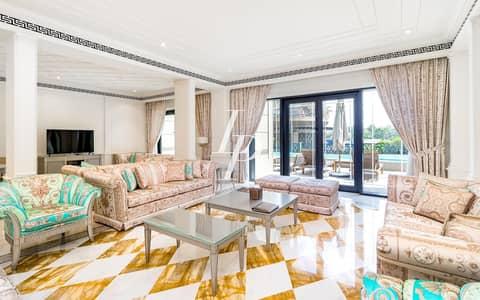 تاون هاوس 3 غرفة نوم للايجار في القرية التراثية، دبي - Fully Furnished 3-Bed Townhouse| Palazzo Versace |