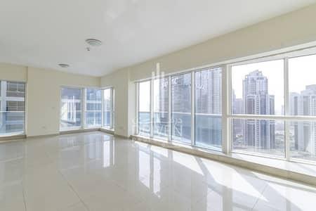 فلیٹ 3 غرف نوم للايجار في الخليج التجاري، دبي - Chiller included with Burj Khalifa views