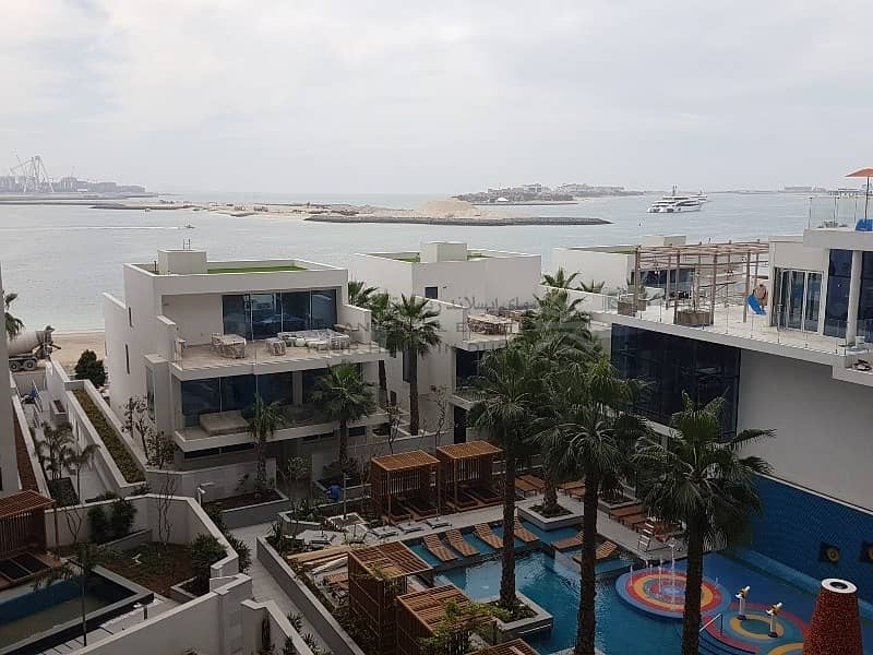 15 Sea Facing Fully furnished 2 bed Apt For sale