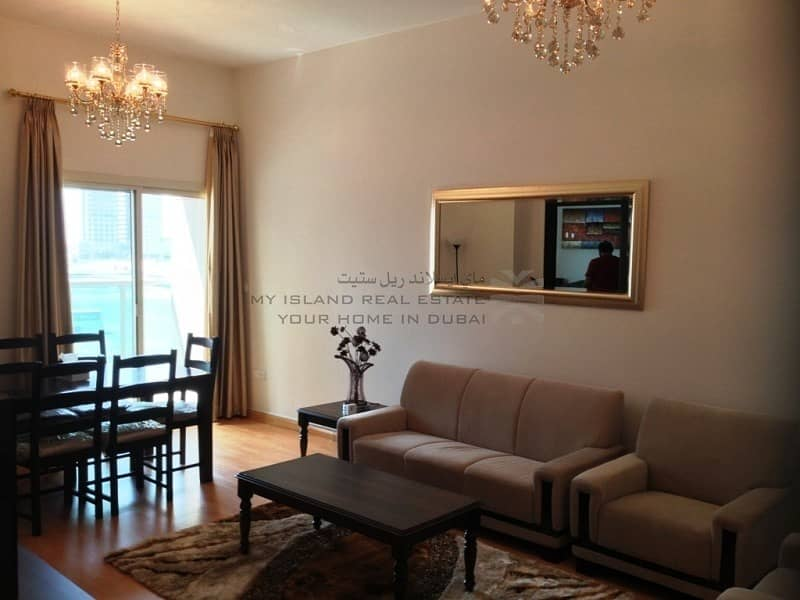 2 Furnished 2 bedroom with 2 balconies For Sale