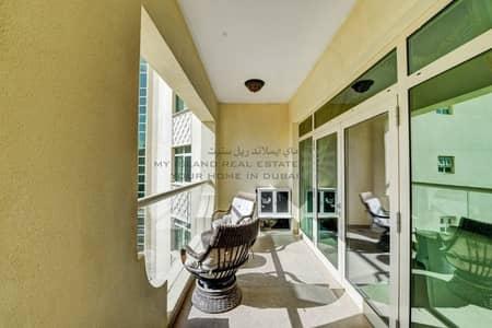شقة 2 غرفة نوم للايجار في نخلة جميرا، دبي - Fully Furnished 2 Bed in Shoreline For Rent