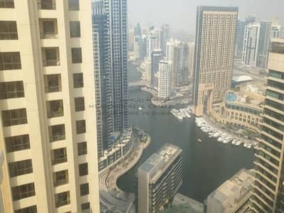 2 Bedroom Flat for Rent in Jumeirah Beach Residence (JBR), Dubai - 2 Bedroom with Panoramic Marina View For Rent