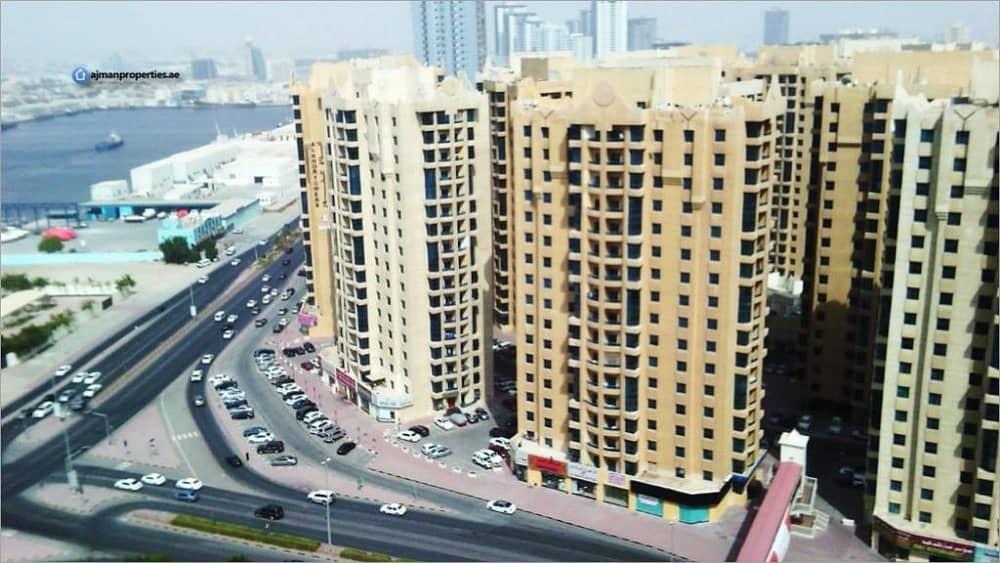 شقة في أبراج الخور عجمان وسط المدينة 2 غرف 320000 درهم - 4216696
