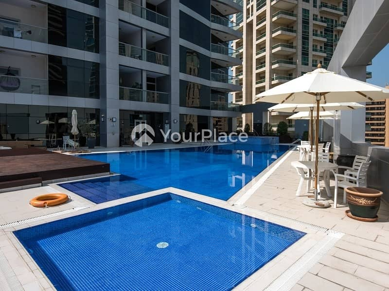 10 Chiller Free I 2 Bedroom I Dubai Marina