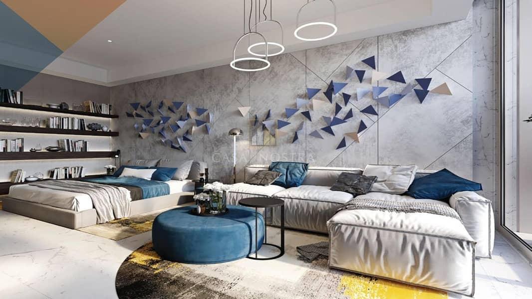 Comfortable Payment Plan Furnished Studio IBalcony
