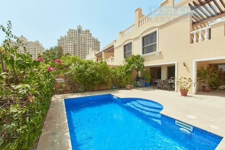 4 Bedroom Townhouse for Rent in Al Hamra Village, Ras Al Khaimah - Lagoon View - Private Pool - Fully Furnished