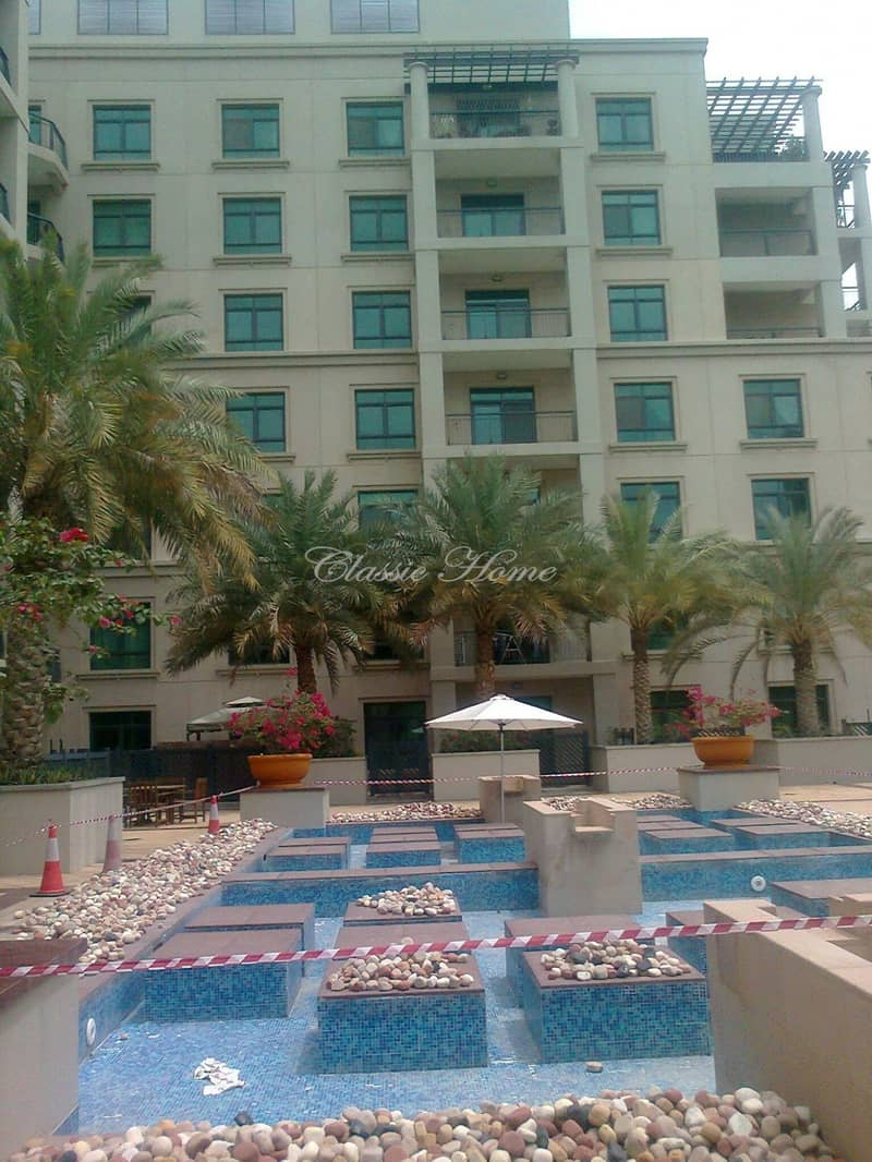 11 Corner Unit with Pool View 2 BR+Study The Views