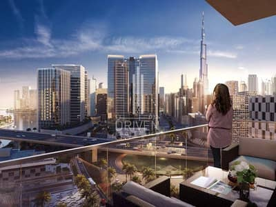 STUNNING 2 BR APT WITH CANAL & BURJ VIEW