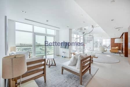 بنتهاوس 4 غرفة نوم للايجار في شاطئ الراحة، أبوظبي - Panaromic full seaview 4BR Penthouse corner|ready to move in