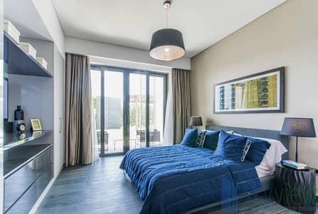 شقة 2 غرفة نوم للبيع في مدينة محمد بن راشد، دبي - Fully Furnished | Pool View | Lush Landscape