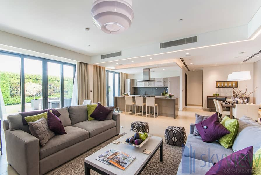 2 Fully Furnished | Pool View | Lush Landscape