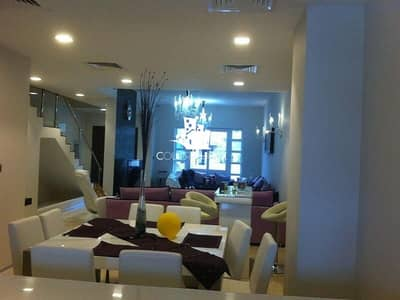4 Bedroom Villa for Rent in Jumeirah Village Circle (JVC), Dubai - Fully Furnished l Vacant 4BR with Maid's