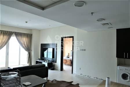شقة 2 غرفة نوم للايجار في دبي مارينا، دبي - Partial Sea/Marina View