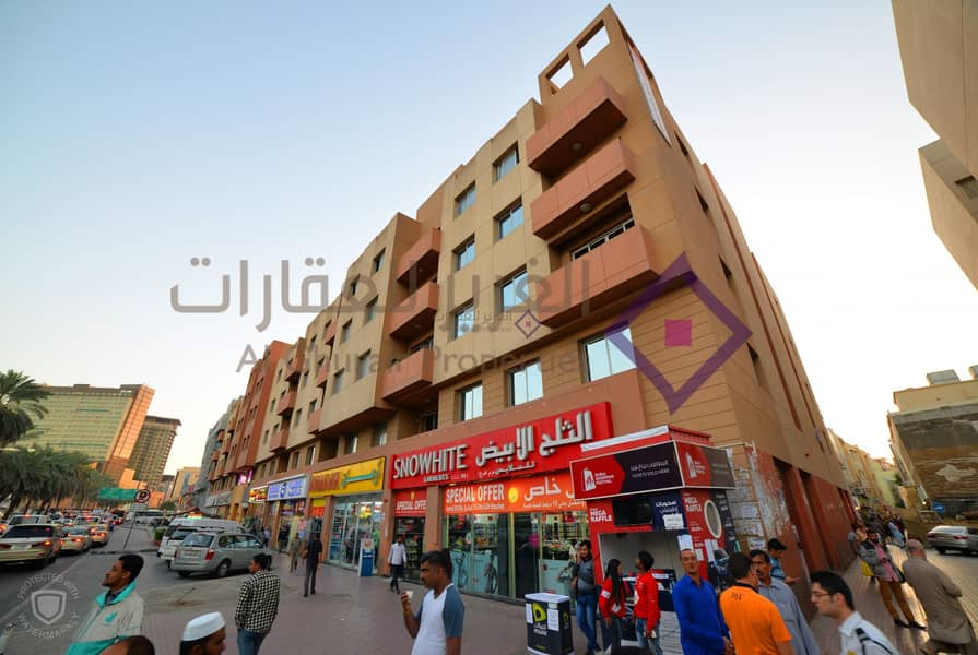 11 Office Studio Available| Naif|Near Fish Roundabout