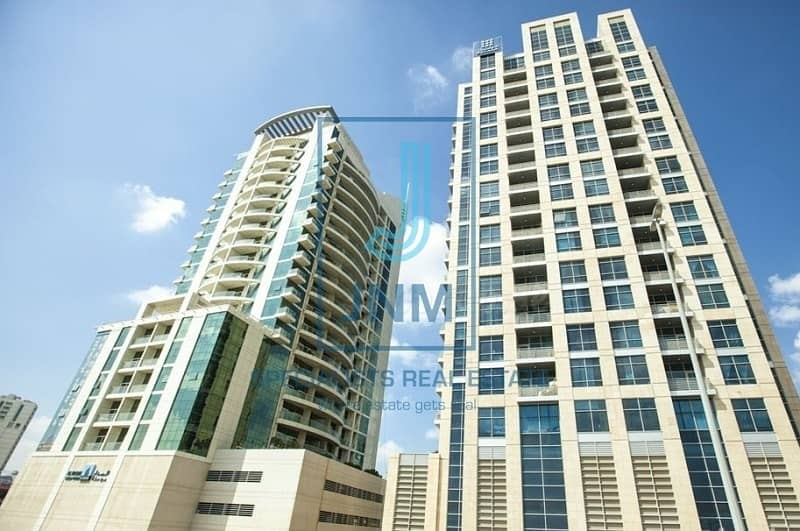 Semi furnished studio in Scala Tower