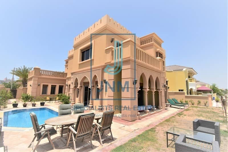 VIP Frond Villa in Palm Jumeirah for sale!