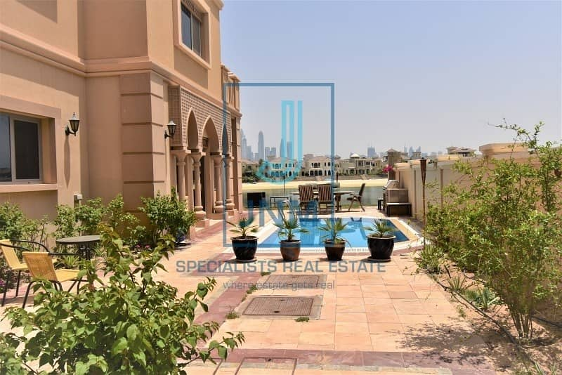 2 VIP Frond Villa in Palm Jumeirah for sale!