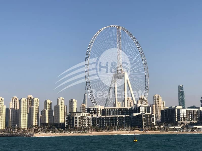 Dubai Eye View   Ideal place   Bluewaters