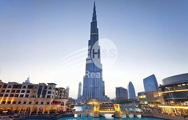 2 Best Deal I Burj Khalifa I 1 Bed I Sea View