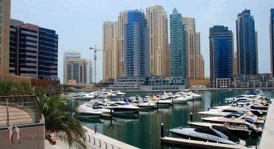 شقة 2 غرفة نوم للايجار في دبي مارينا، دبي - spacious and good price 2 bedrooms  ready  move in