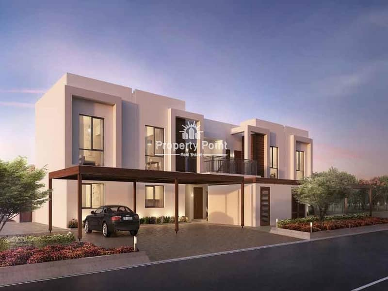 2 Al Ghadeer Phase 2 Townhouses & Condo Units . Off Plan. 5% Down Payment. Pay 50% Over 4 Years Post-handover