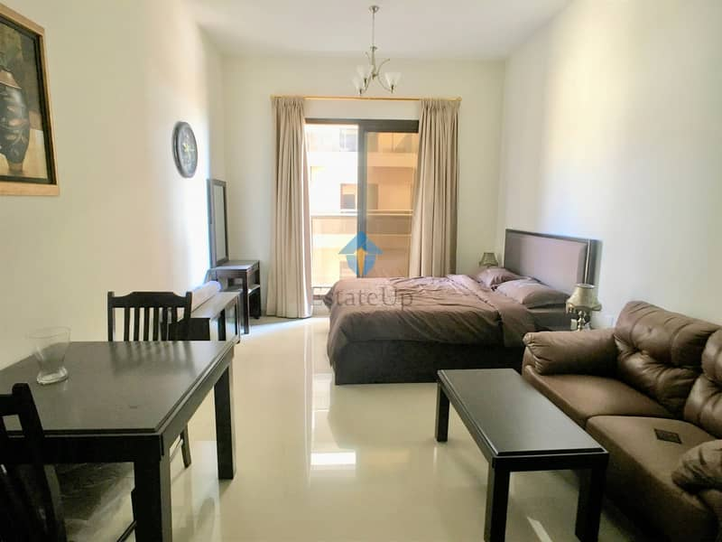 Fully Furnished Unit with Golf Course View