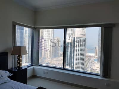Furnished 2 Beds | Full Marina View | High Floor