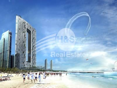 2 Bedroom Flat for Sale in Jumeirah Beach Residence (JBR), Dubai - The Address at JBR Beach   Coming in 2020