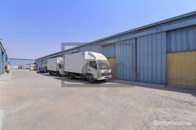 2 Rented warehouses | 12% NET ROI | Prime location