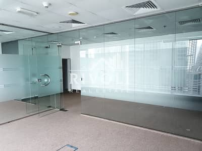 Office for Sale in Business Bay, Dubai - Partitioned Office in Burlington Tower for Sale