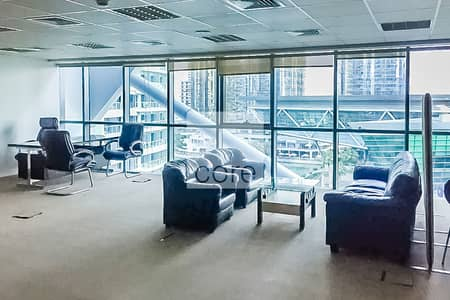 Office for Rent in Jumeirah Lake Towers (JLT), Dubai - Fitted Office | Low Floor | Parking | DMCC