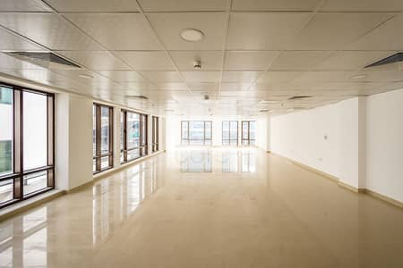 Office for Rent in Sheikh Zayed Road, Dubai - Fitted Corner Office | Combined Floors