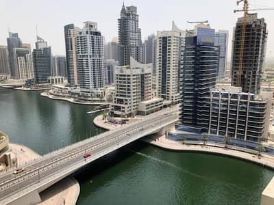 فلیٹ 1 غرفة نوم للايجار في دبي مارينا، دبي - شقة في برج كونتيننتال دبي مارينا 1 غرف 100000 درهم - 4218183