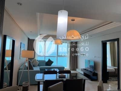 فلیٹ 1 غرفة نوم للايجار في منطقة الكورنيش، أبوظبي - 1 BR Fully Furnished