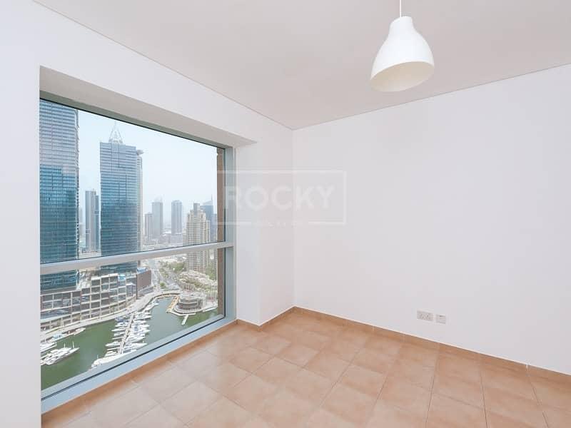 13 High Floor | 3 Bed plus Maids | Full Marina View | Marina Tower