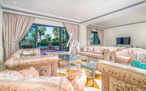 تاون هاوس 4 غرفة نوم للايجار في القرية التراثية، دبي - Four-Bedroom  Furnished Townhouse with Private Swimming Pool