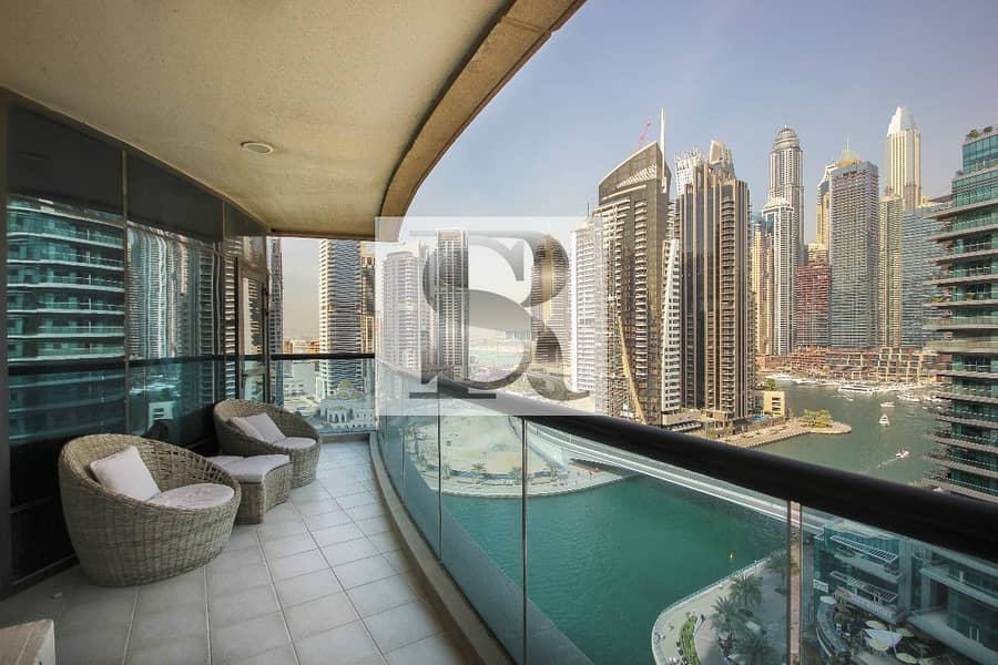 16 Luxurious Apartment with FULL Marina View for SALE