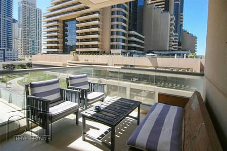 2 Bedroom Apartment for Rent in Dubai Marina, Dubai - Nicely Furnished - 2 Bedroom - Low Floor
