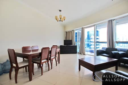 2 Bedroom Apartment for Sale in Jumeirah Lake Towers (JLT), Dubai - 2 Bedroom | Vacant | Marina Skyline View