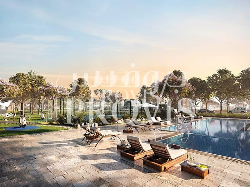 11 Experience what Yas Island can Offer|Corner Plot